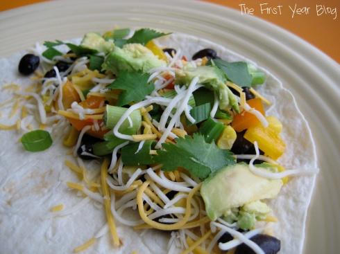 Black Bean Quesadillas - The First Year Blog