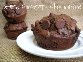Double Chocolate Chip Muffins - The First Year Blog