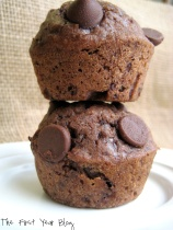 double chocolate chip muffins 3
