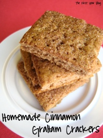 Homemade Cinnamon Graham Crackers - The First Year Blog