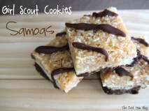 Homemade Samoas -  The First Year Blog