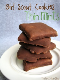 Homemade Thin Mints - The First Year Blog