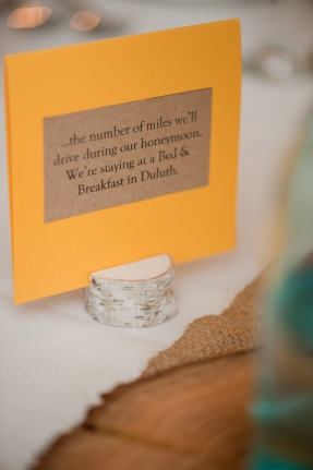 Personalized Wedding Table Numbers - The First Year Blog #WeddingTableNumbers